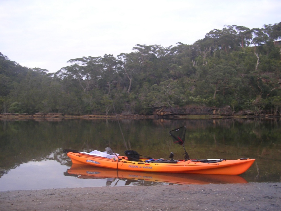 Kayaks are a stealthy and effective way to explore sandflats .