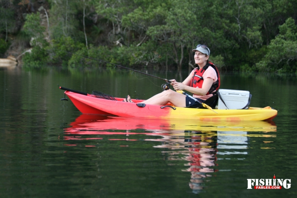 If your budget is limited consider a basic kayak. You'll still catch fish.