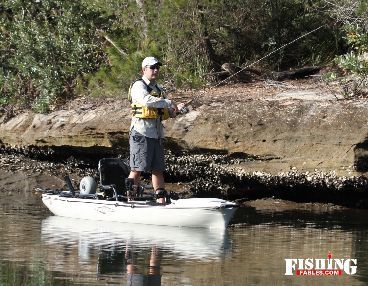 Kayaks you can stand up in are great for lure casting, but they are also very heavy.